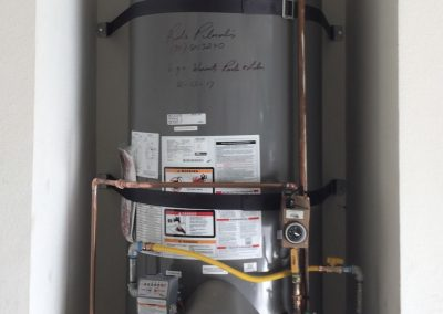 75 Gal Rheem Water Heater with owner's Circulating Pump and Smitty Pan. City of Yorba Linda.