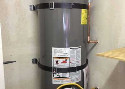 40 Gal Rheem Water Heater change out with new vent. City of Orange, CA.
