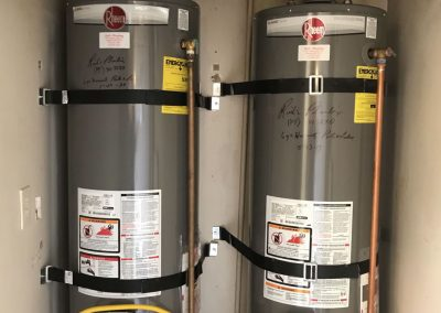 40 Gal Rheem Water Heater change out with new venting. City of Yorba Linda, CA.