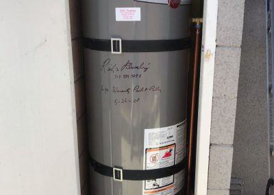 50 Gal Rheem Water Heater change out. City of Anaheim, CA.