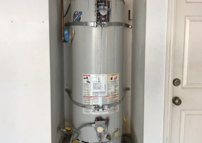 Water Heater Replacement Stage 1